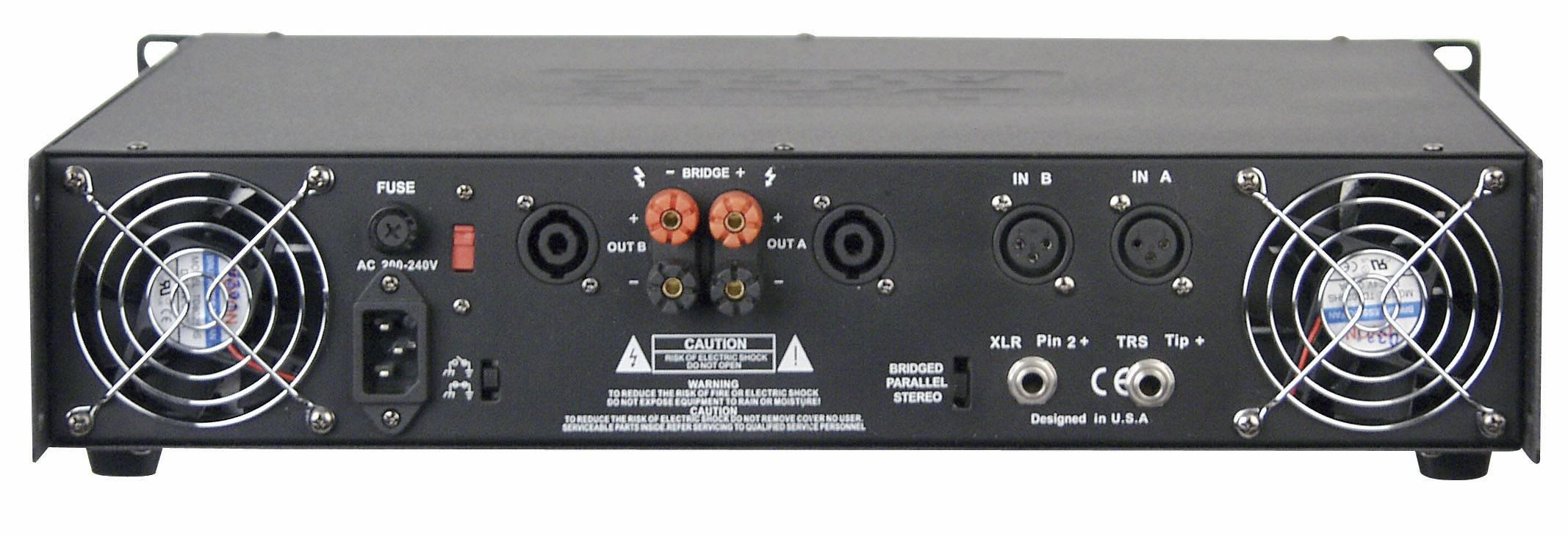 DAP-Audio P-1200 koncový zosilňovač 2x800W